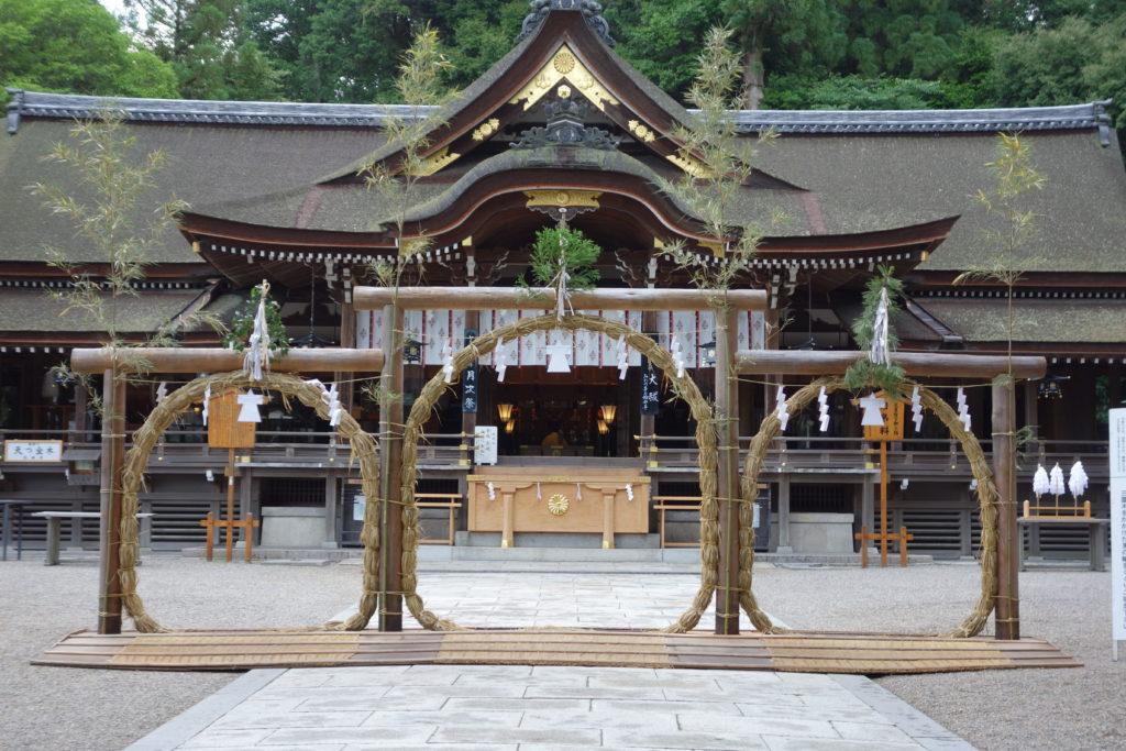 大神神社夏越の大祓(なごしのおおはらえ)