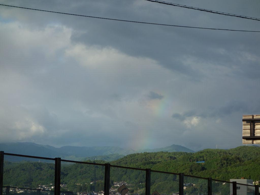 最近あった少し良い話 虹とハミングパル