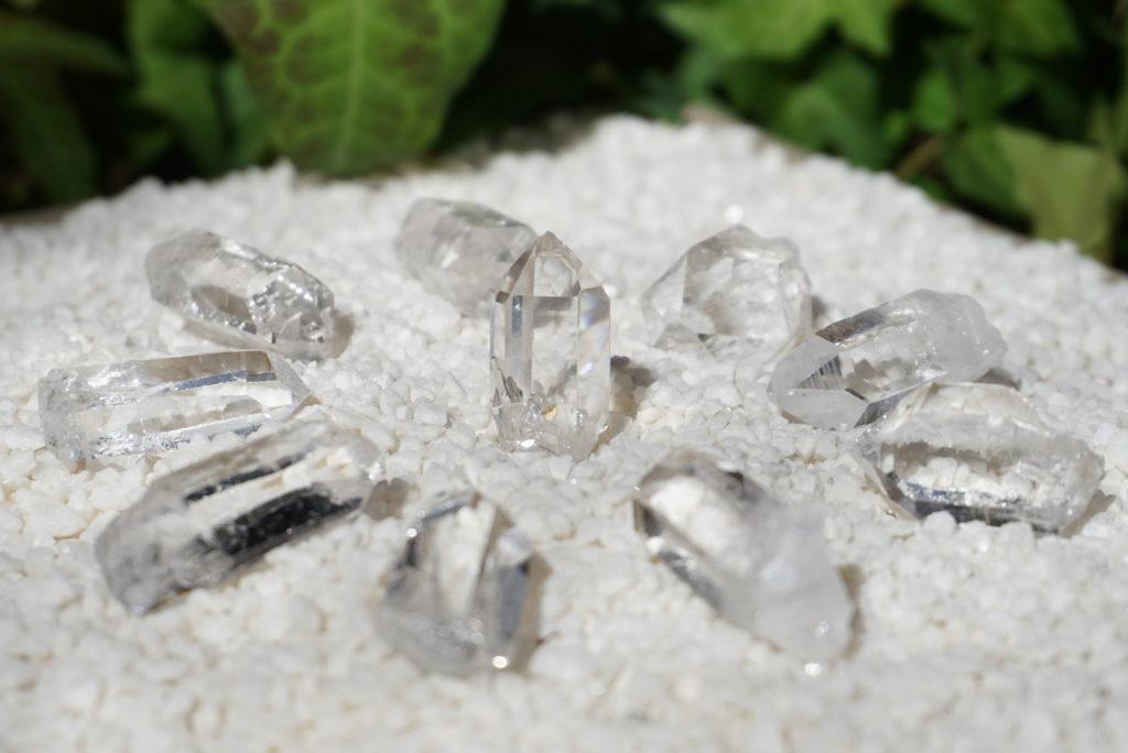 コリント産水晶たち