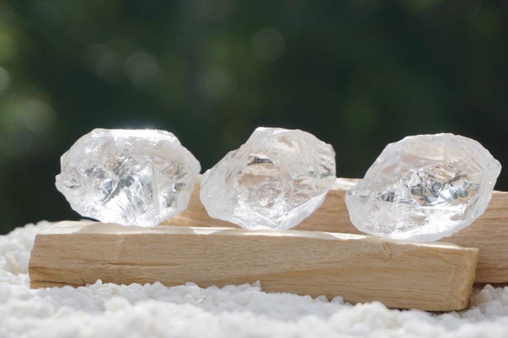 「ヒマラヤ マニカラン産水晶 原石 」入荷しました