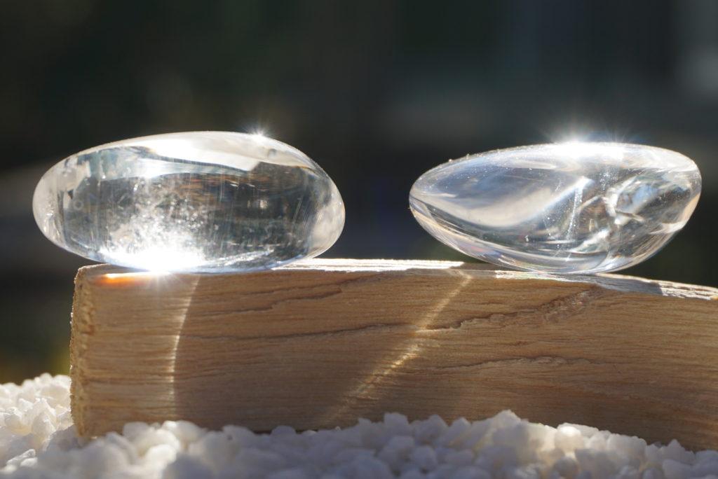 マダガスカル産水晶タンブル入荷しました
