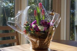 お客さまからの感想-3 リアファル(Lia Fail)はサイトオープン1周年を迎えました。素敵なお花をいただきました-01