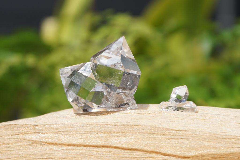 ハーキマー&カラーラダイヤモンド ペア 入荷しました