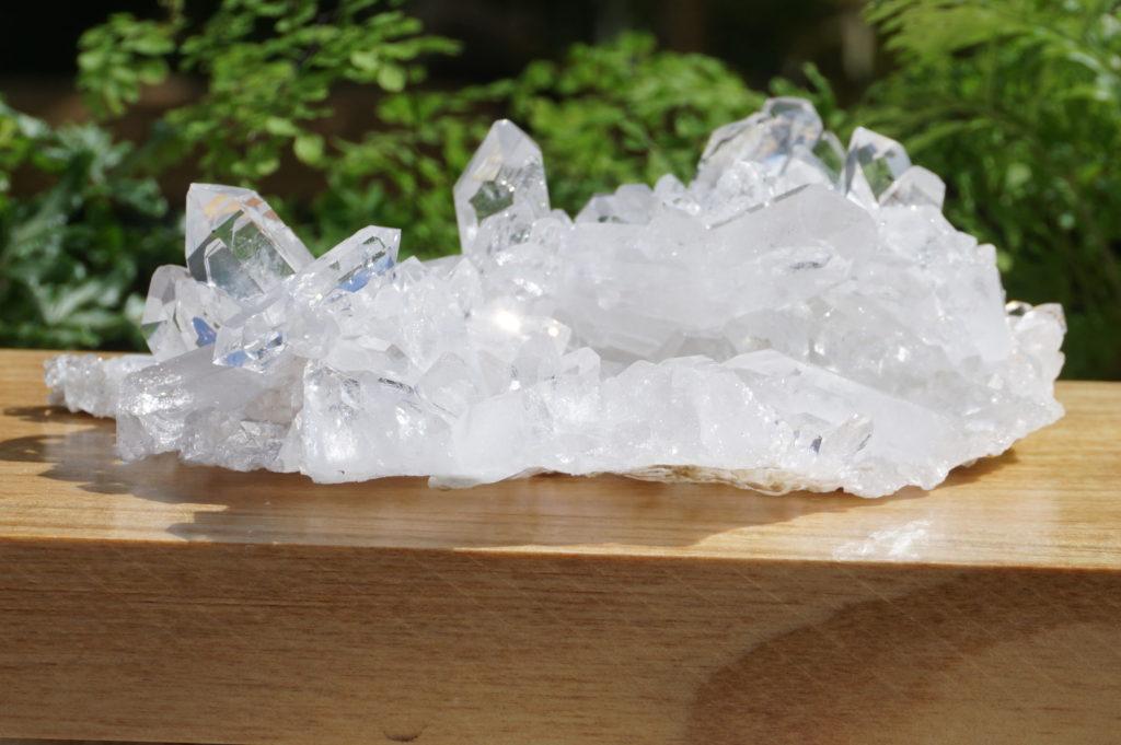 「ブラジル・コリント産水晶クラスター【高品質】」入荷しました