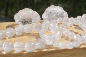 ヒマラヤ マニカラン産水晶原石&8ミリ玉ブレスレット 【希少】入荷しました-03