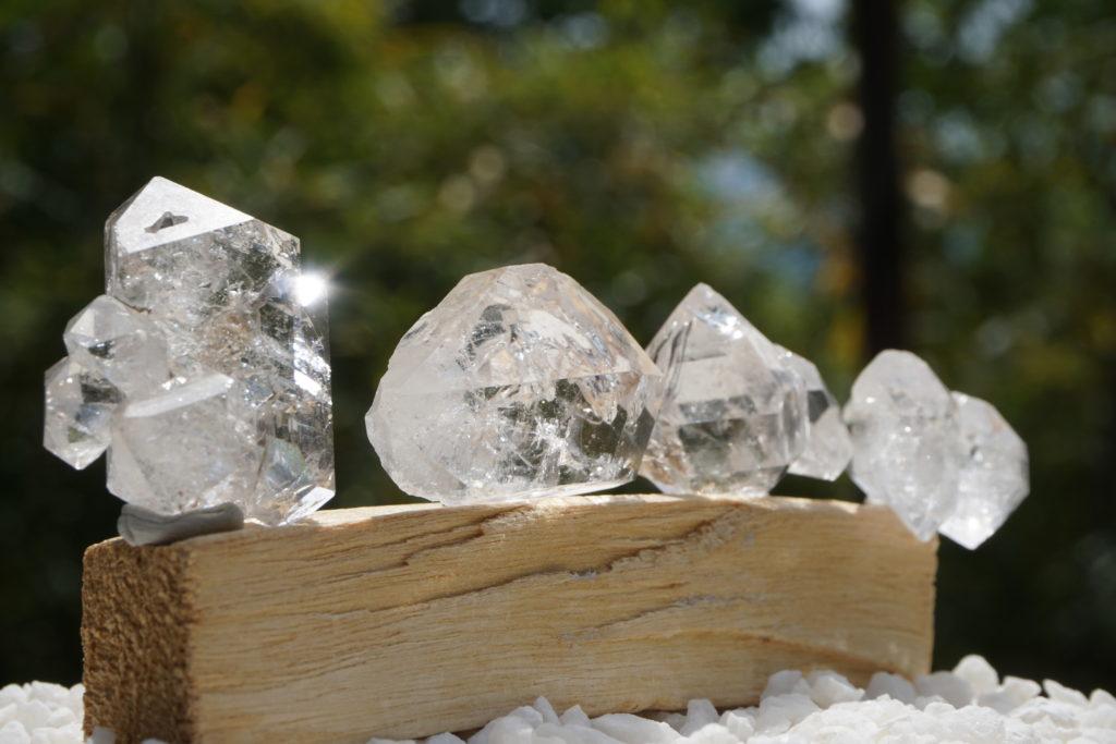 NY産「ハーキマーダイヤモンド水晶」入荷しました