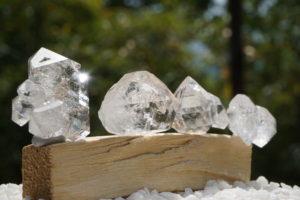 NY産「ハーキマーダイヤモンド水晶」入荷しました-01
