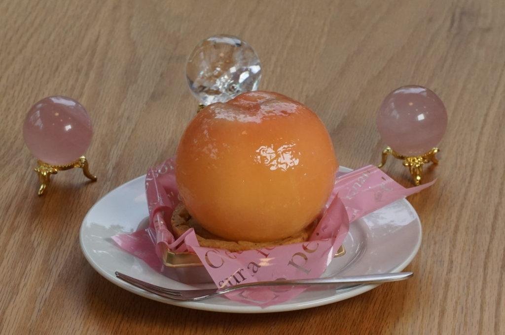 玉垣からの風景「8月のタルトはまるごと桃」