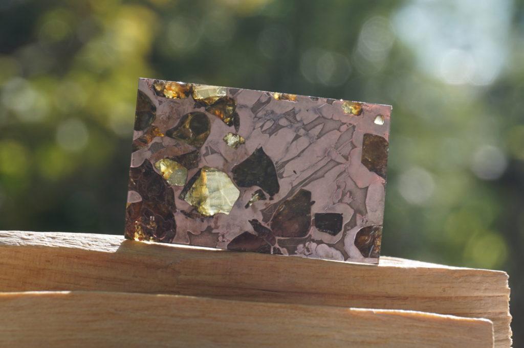 パラサイト隕石 ロシア・セイムチャン産【希少】【高品質】