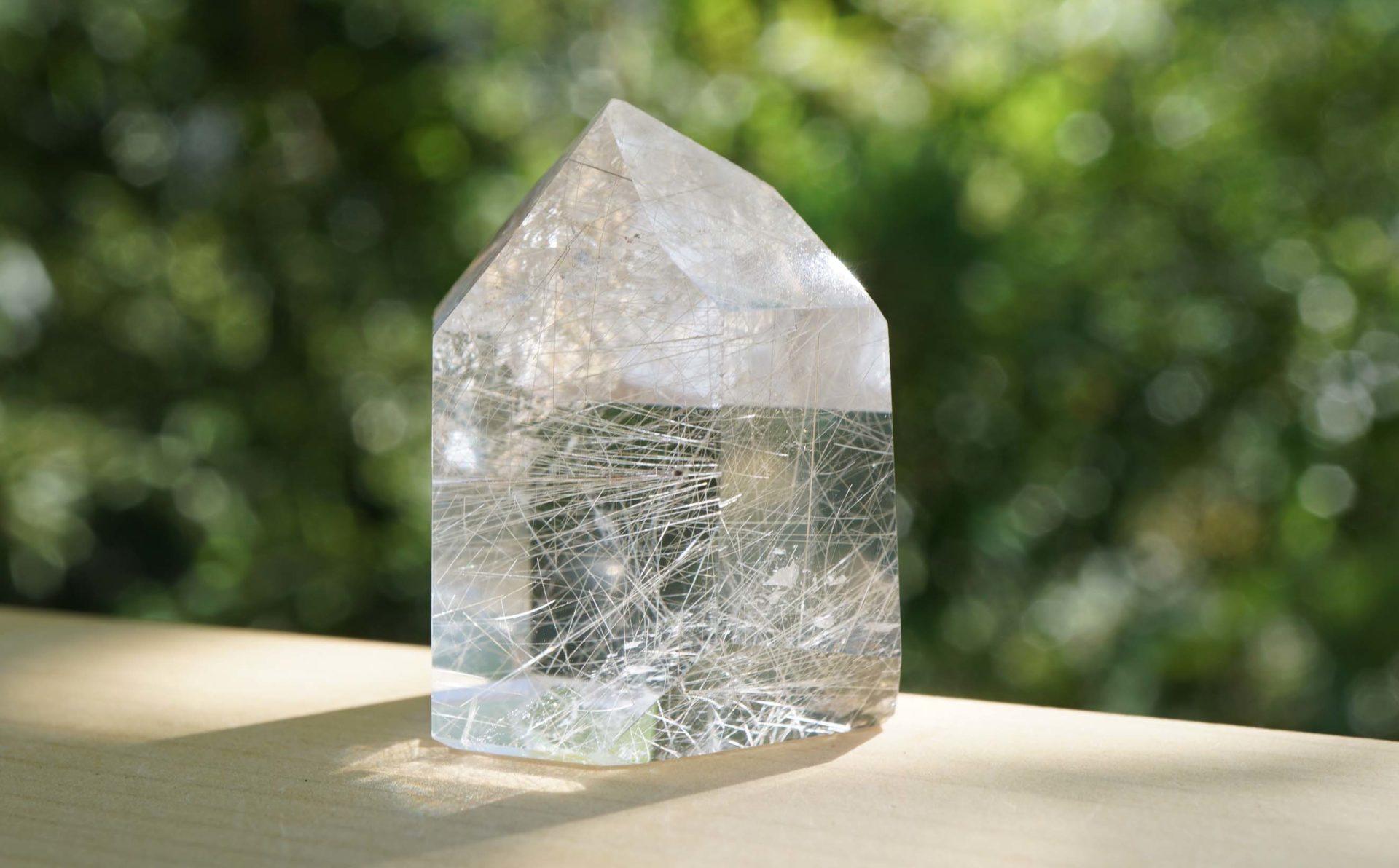 rutile-quartz-point