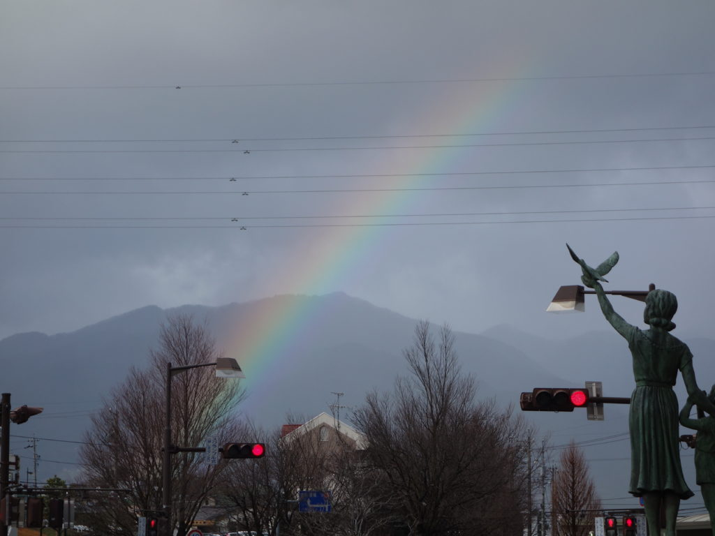 大晦日の「虹」