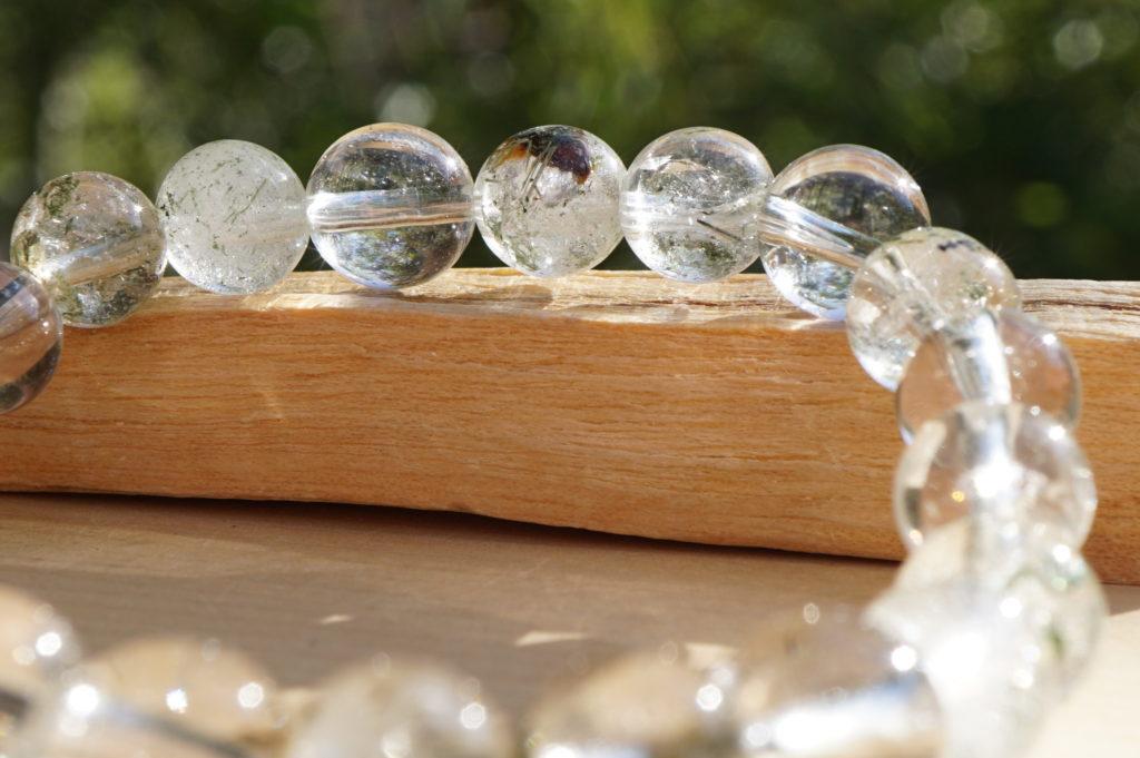「ガネーシュヒマール産天然水晶ブレスレット」入荷しました