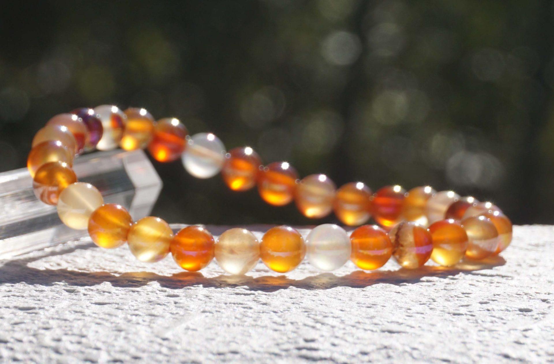 carnelian-aura-bracelet
